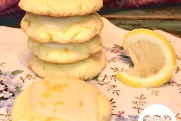 Keto Nut-Free Tangy Lemon Cookies