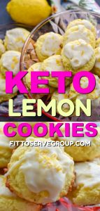 Keto lemon cookies