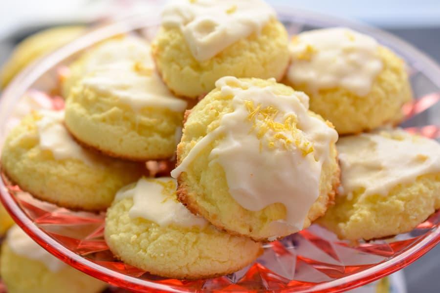 low carb lemon cookies