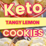 Keto Tangy Lemon Cookies