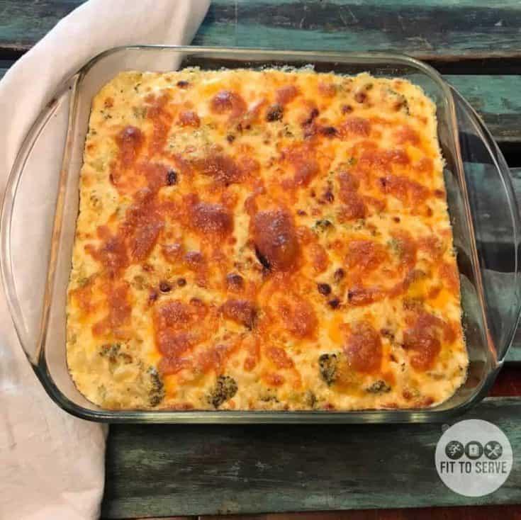 Keto Cauliflower Mac and Cheese