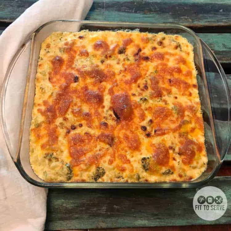 Keto Cauliflower Mac and Cheese