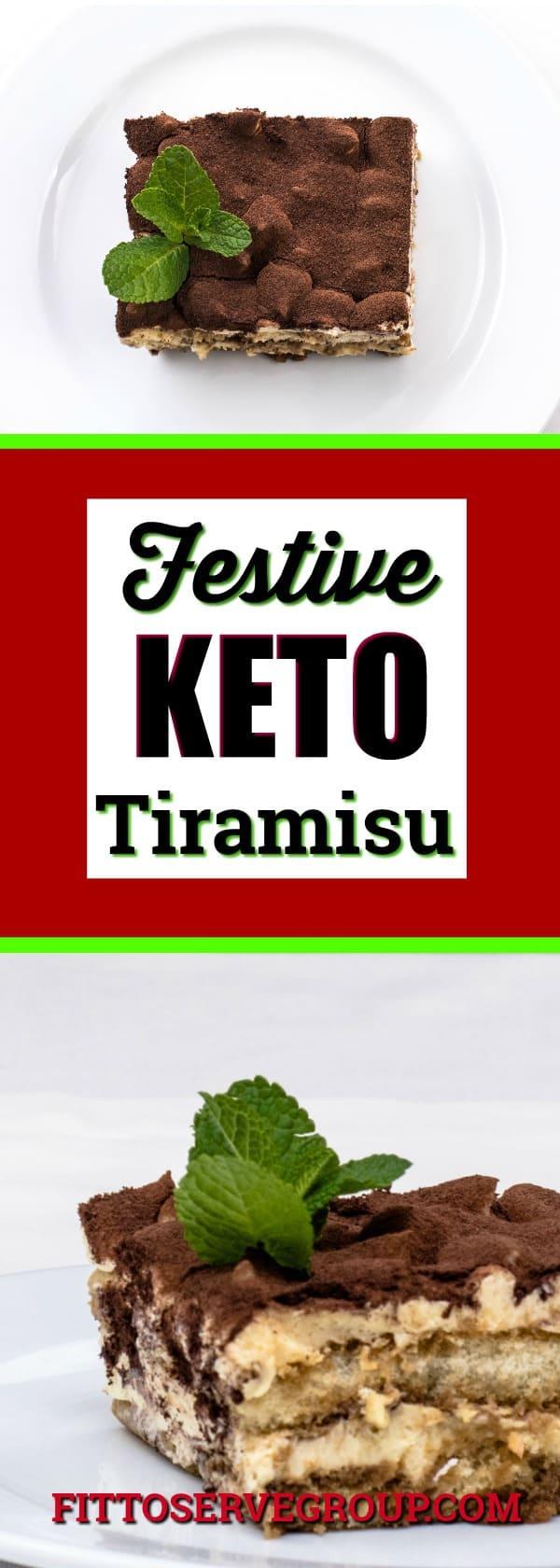 Festive Keto Tiramisu