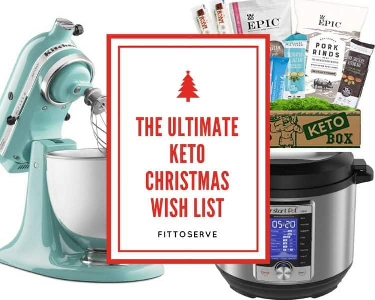 The Ultimate Keto Christmas Wish List for the ketogenic dieter