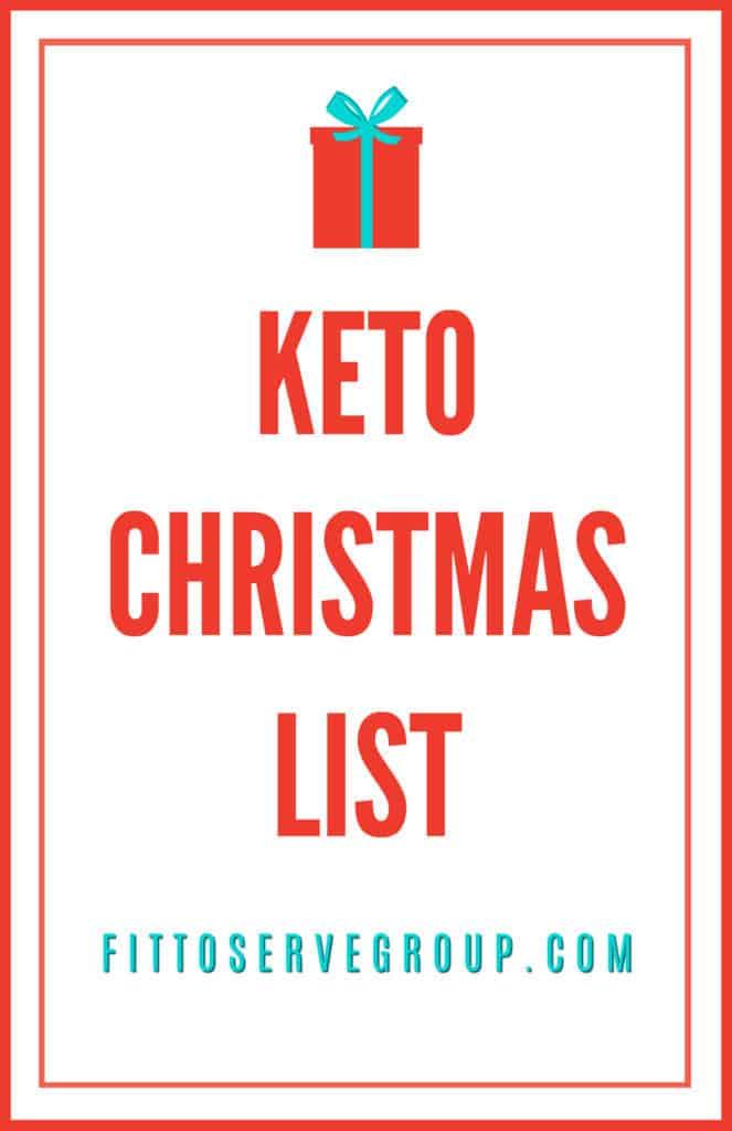 Keto Christmas wish list and guide