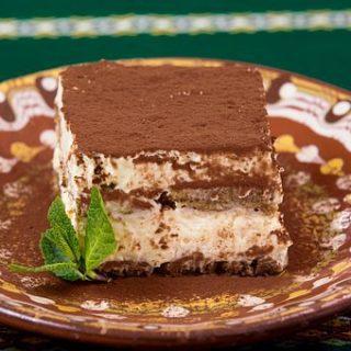 Festive Keto-Friendly Tiramisu Cake
