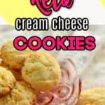 keto cream cheese coconut flour cookies