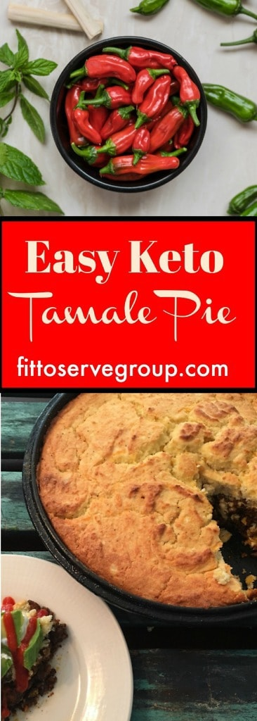 Easy Keto Tamale Pie