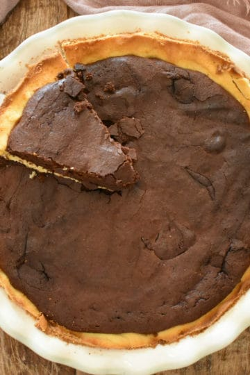 Keto Fudge Pie