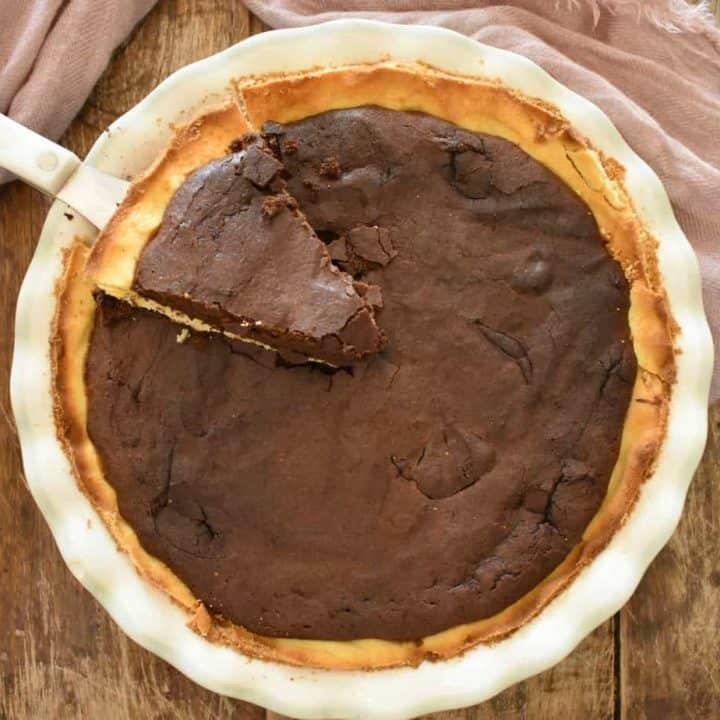 Keto Fudge Pie, A New Family Favorite