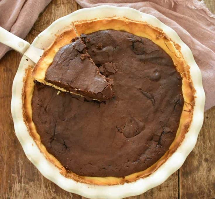 Keto Fudge Pie, A New Family Favorite