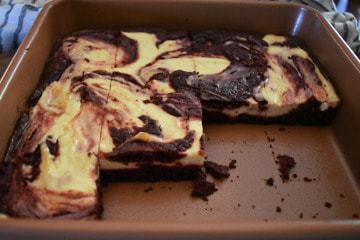 Keto Red Velvet Cream Cheese Brownies