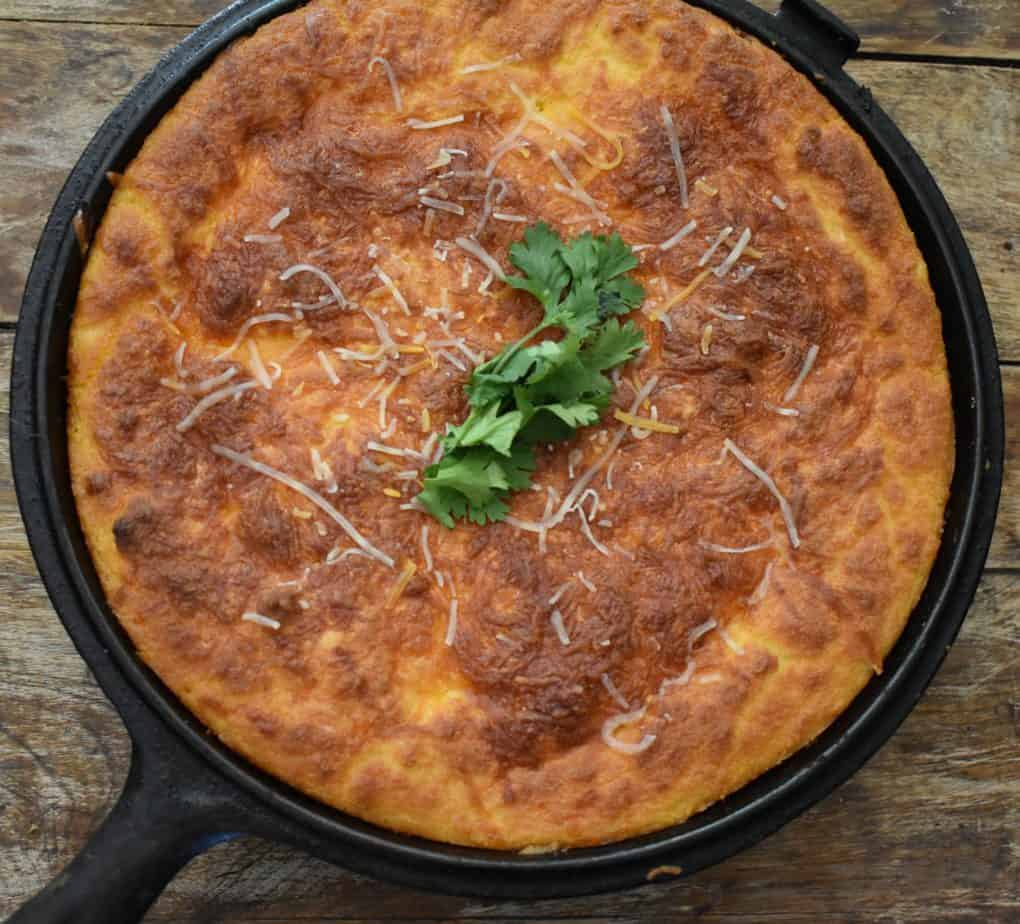 Keto Chicken Chili Cornbread Casserole Easy Keto Chili