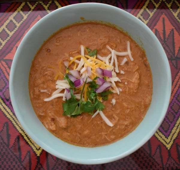 Keto Chicken Chili (Slow Cooker)