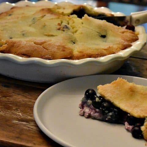 Keto Blueberry Pie