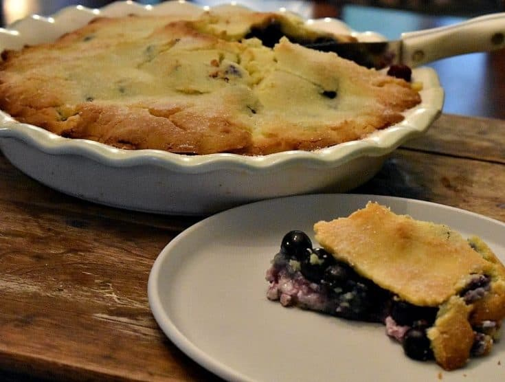 Easy Keto Blueberry Pie (Double Crust)