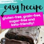 keto chocolate pound cake easy recipe