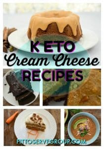 Low Carb Keto Cream Cheese Recipes
