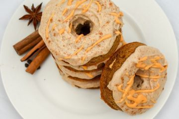 Keto Pumpkin Cream Cheese Donuts