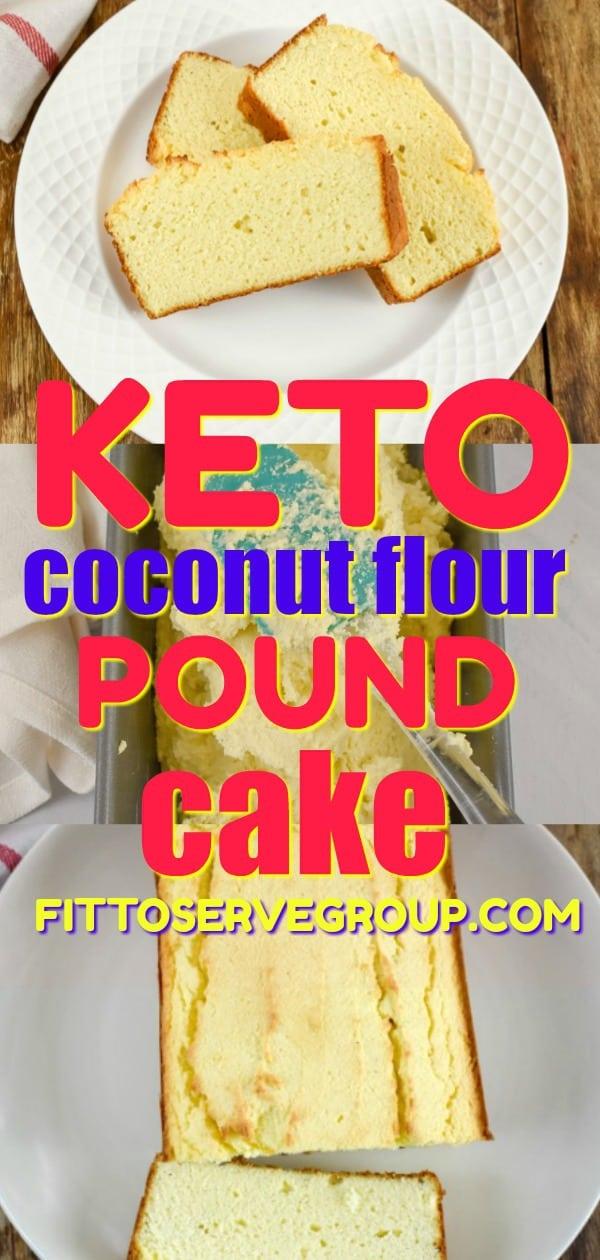 keto coconut flour cake