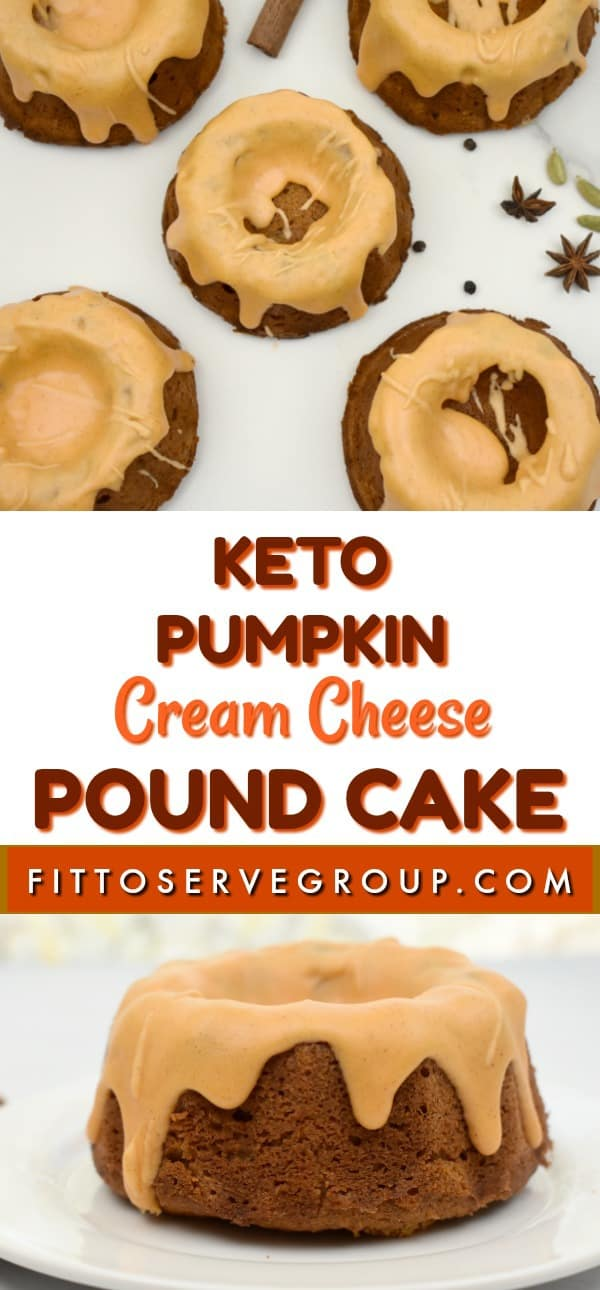 This keto pumpkin cream cheese pound cake is packed pumpkin spice flavors yet void of high carbs. It's the keto pumpkin cake to enjoy all pumpkin season long. |keto pumpkin pound cake| keto cream cheese pumpkin pound cake |low carb pumpkin pound cake |sugar-free pumpkin cake