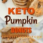 These Keto Pumpkin Cream Cheese Donutsare a pumpkin season delight. Packed with the flavors of Fall they are sure to be a hit. They are grain-free, gluten-free, sugar-free and keto-friendly.