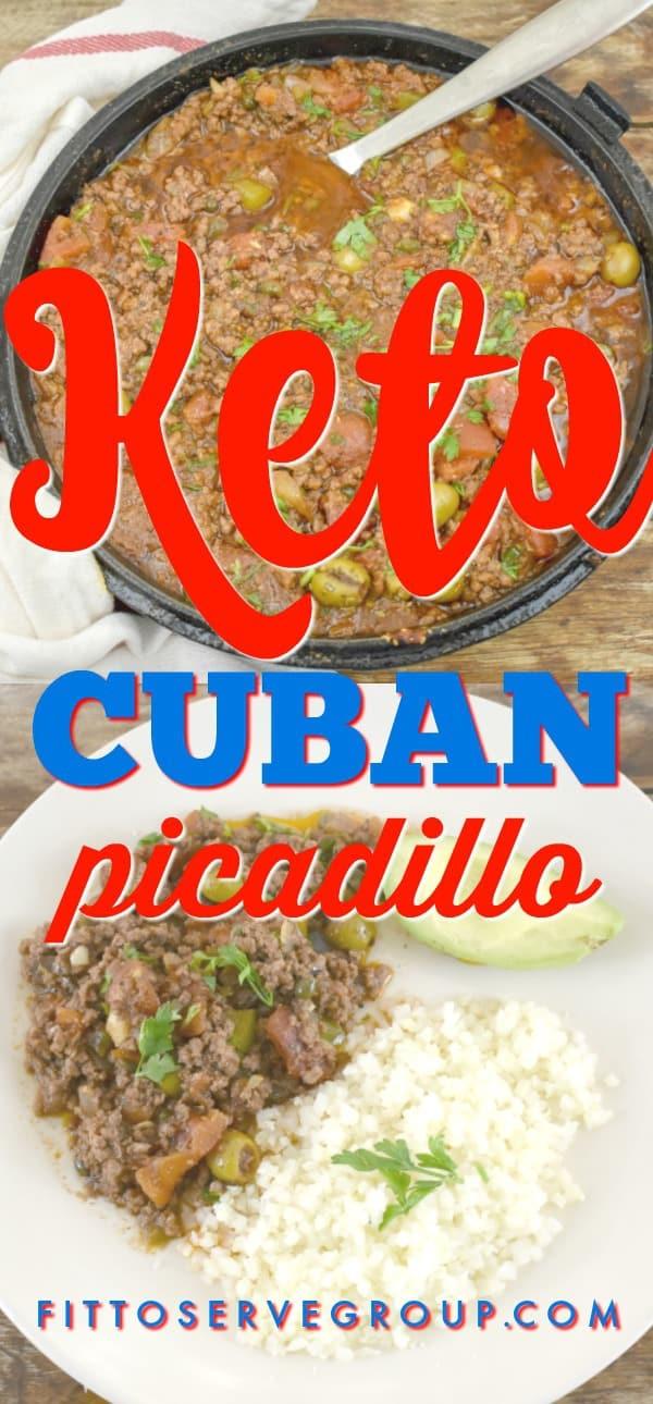 Keto Cuban Picadillo