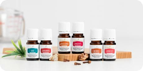 The perfect way to add the spices of fall using all-natural Young Living Essential Oils