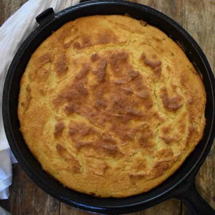 Keto Cornbread {Coconut Flour}