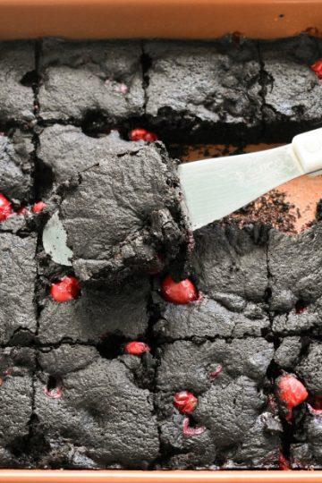 Keto Cranberry Brownies