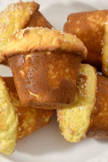 Keto Cream Cheese Muffins