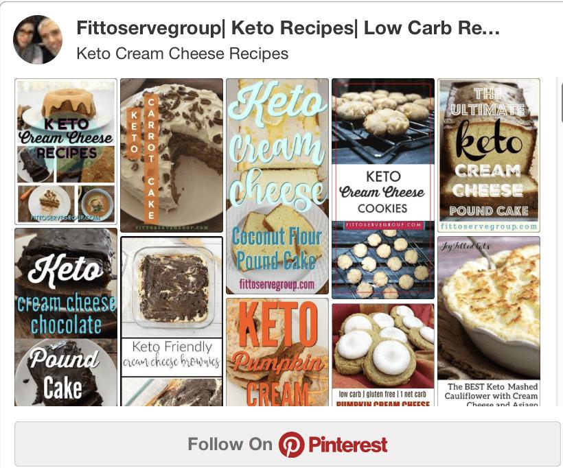 Keto Cream Cheese Recipes Board