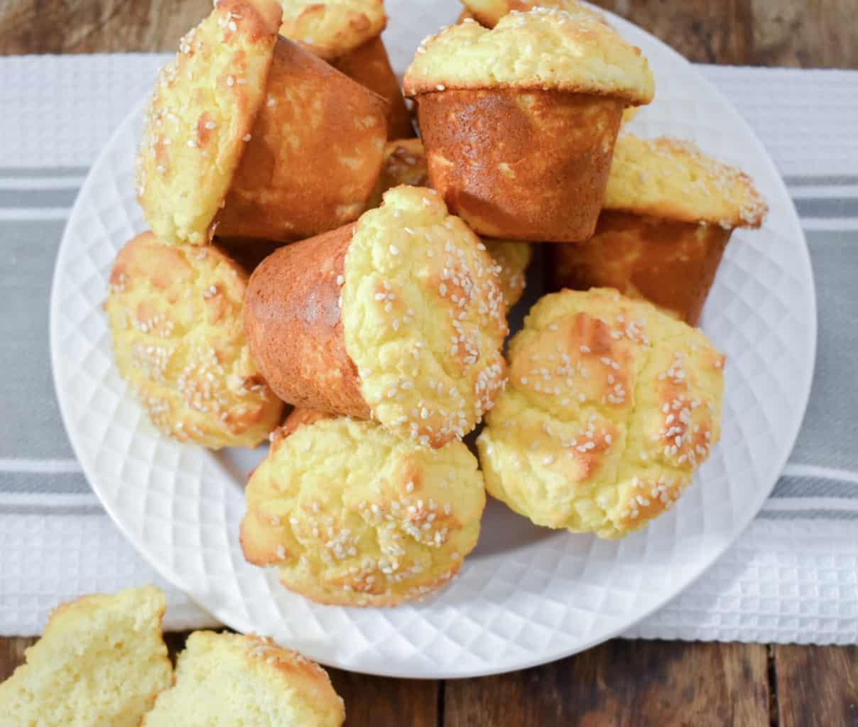 keto cream cheese bread (coconut flour)