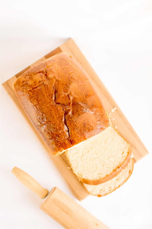 coconut flour keto bread loaf