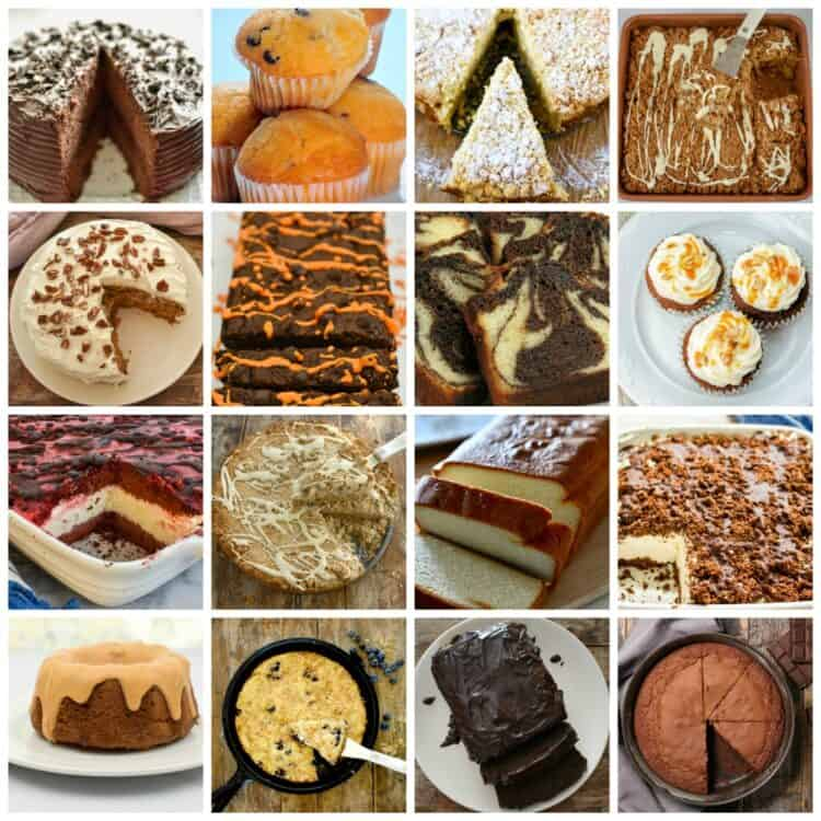 Keto Cakes it's a collection of keto, low carb cakes featured image