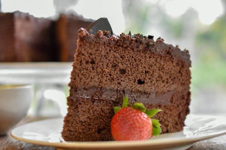 Keto Chocolate Coconut Flour Pound Cake