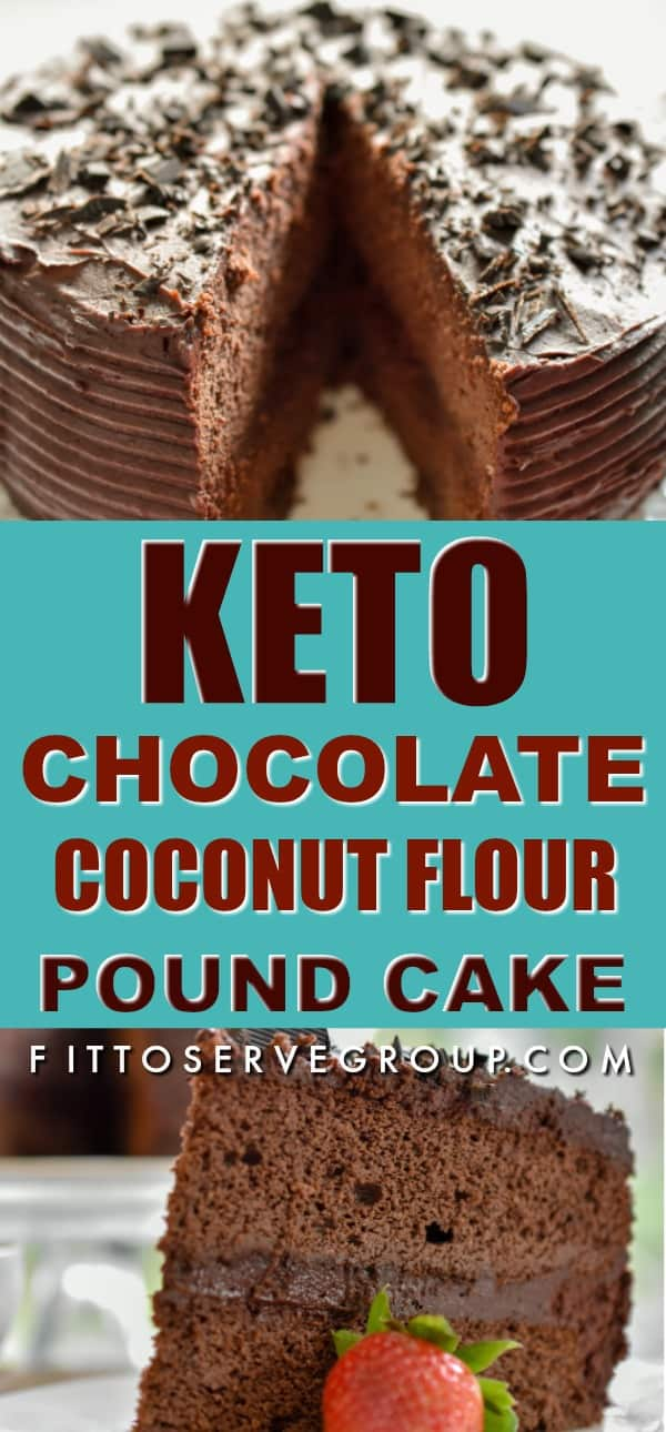Keto Chocolate Coconut Flour Pound Cake 183 Fittoserve Group