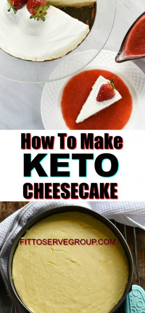 How to make Keto Cheesecake