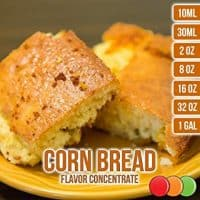 OOOFlavors Corn Bread Flavored Liquid Concentrate Unsweetened (30 ml)