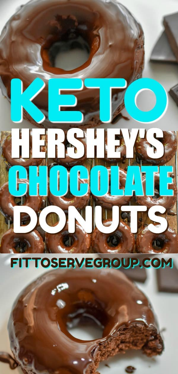 Keto Hershey's Chocolate Donuts