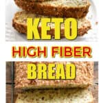 Keto high fiber bread l