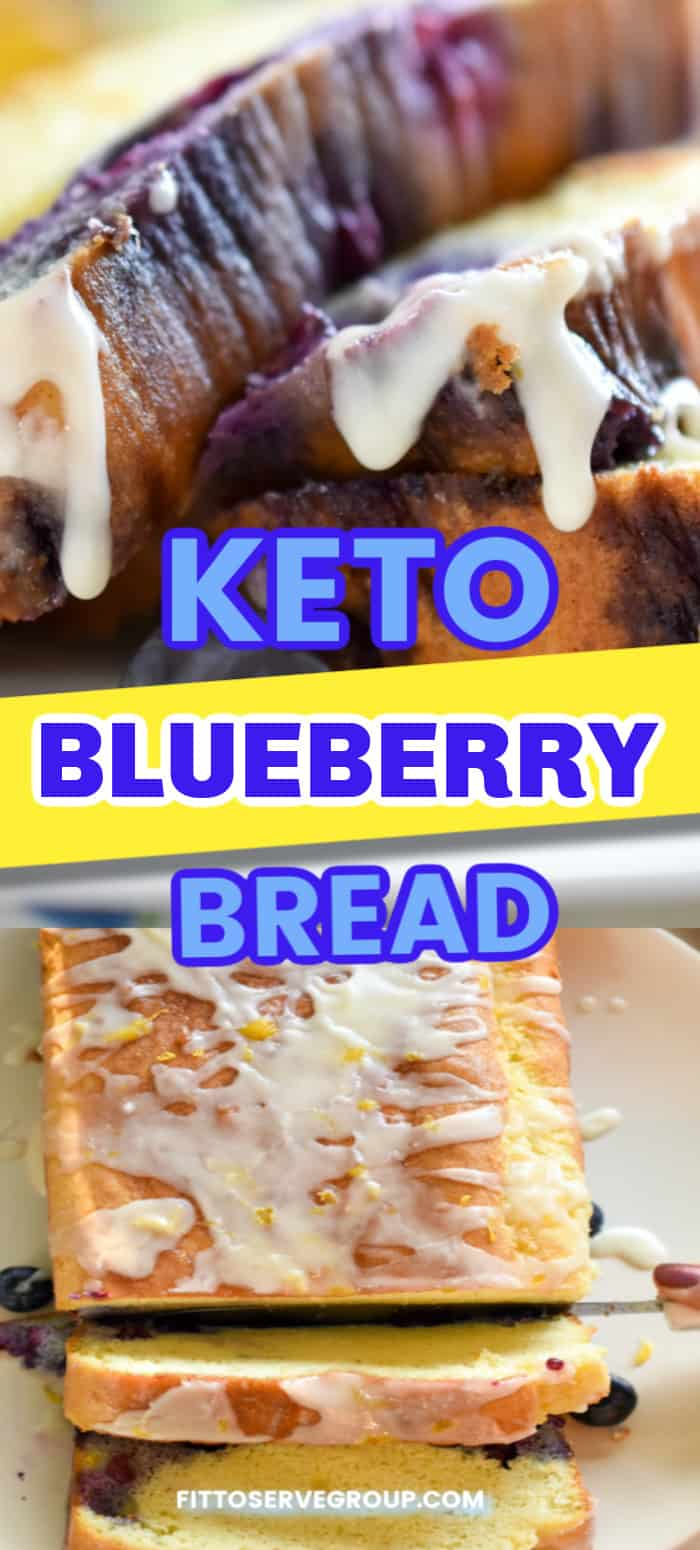 keto blueberry bread