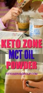 Keto Zone MCT Oil Powder