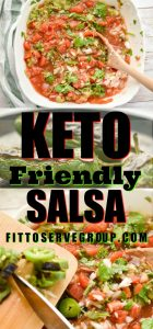 Keto Friendly Salsa