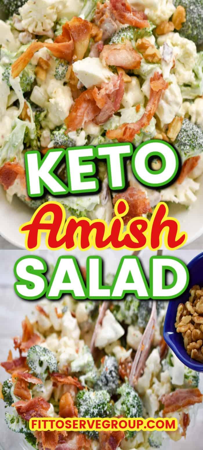 Keto Amish Salad