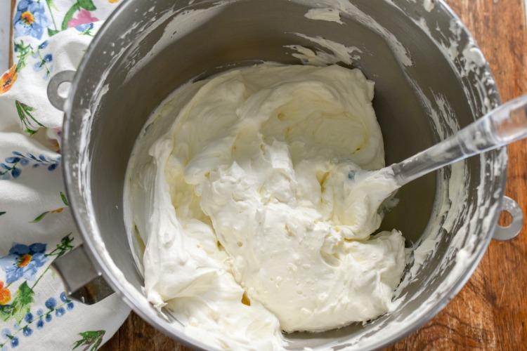 keto ice cream cake filling