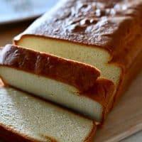 Low Carb Keto Cream Cheese Pound Cake