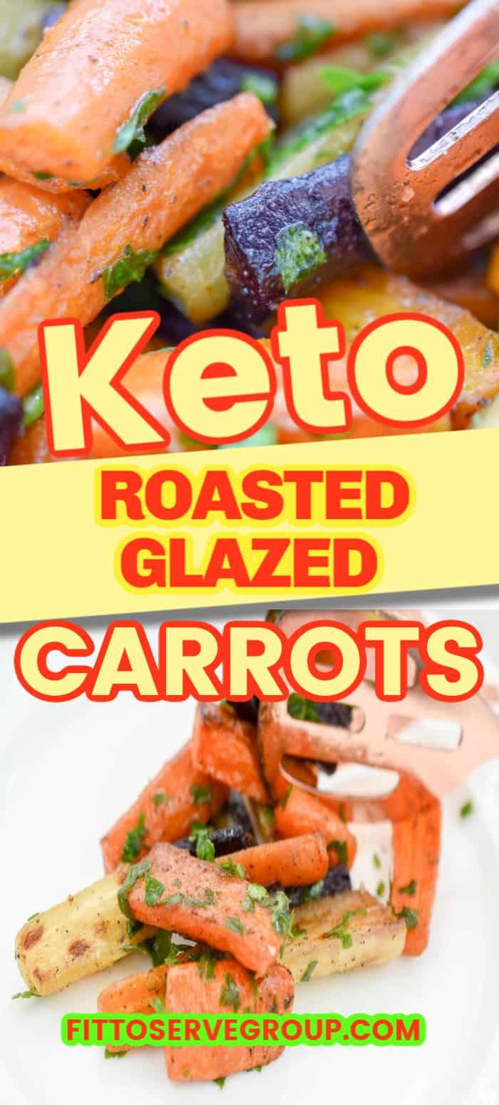 Keto Glazed Carrots side dish