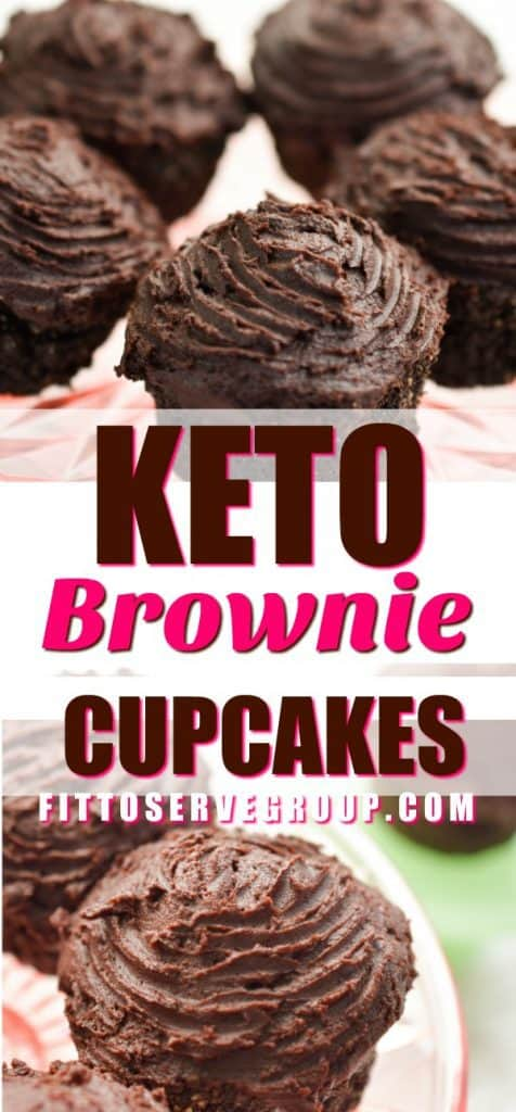 Keto Brownie Cupcakes