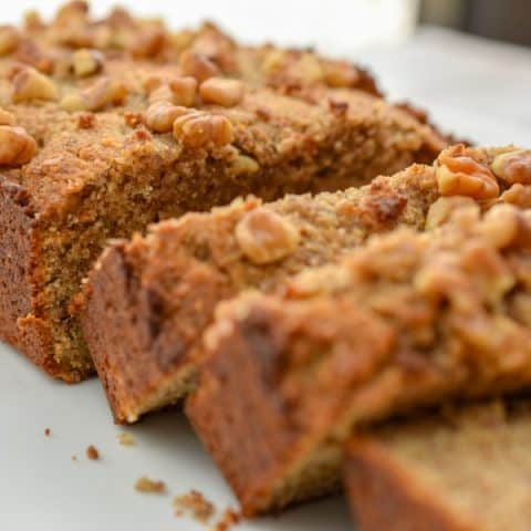 keto banana nut bread